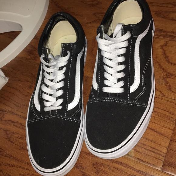 Vans Shoes   Black Old Skool Vans Men